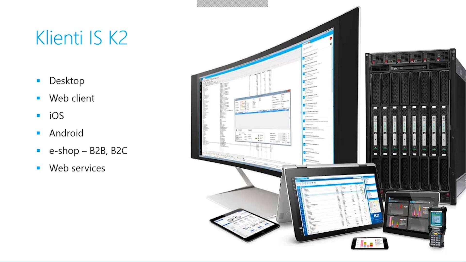 Podnikový software v obchodní firmě