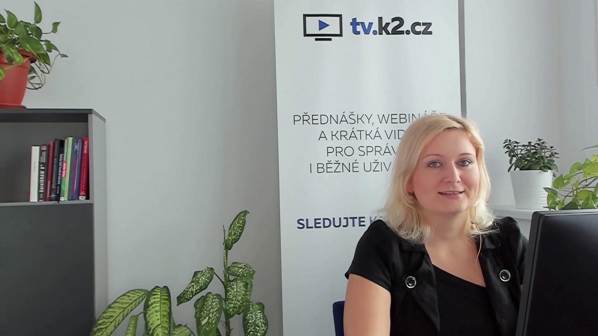 Online dokumentace K2